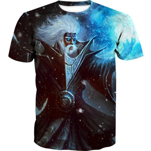 Ice Wizard Hoodie - Fantasy Wizard Clothing - Hoodie Now