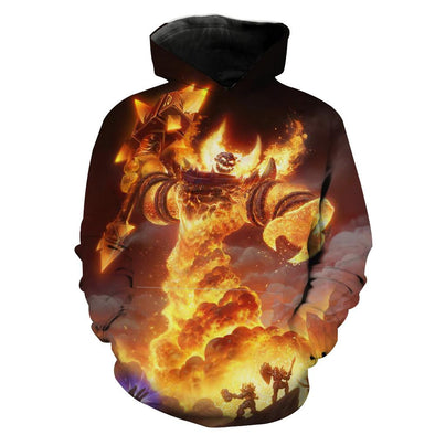 World of Warcraft Classic Ragnaros Hoodie