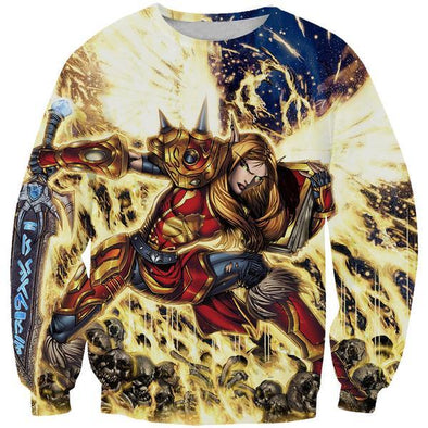World of Warcraft Paladin Sweatshirt - WoW Clothes - Hoodie Now