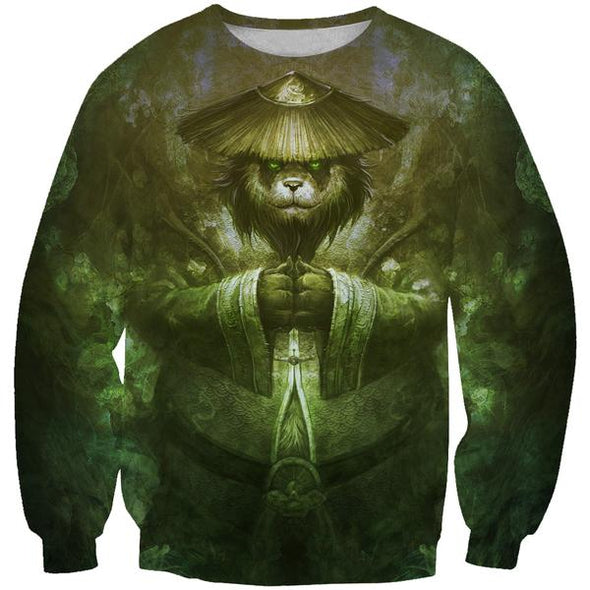 Panda Sweatshirt - World of Warcraft Panda Clothes - Hoodie Now