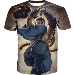 Yasuo T-Shirt - League of Legends Yasuo Clothing - Hoodie Now