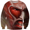 attack on titan face clothes