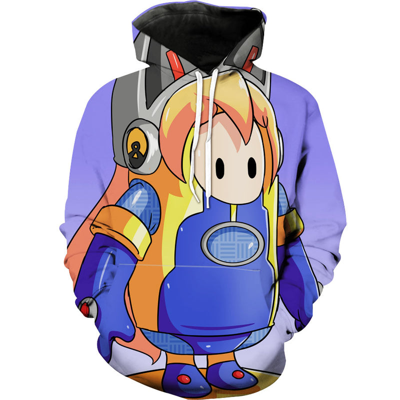 Fall guys Overwatch Gaming Hoodie
