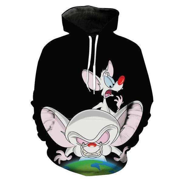 Pinky and the Brain hoodie
