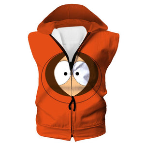 South Park Hoodie - Kenny Face Clothes - Hoodie Now