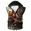 God of War Boss Battle Hooded Tank - God of War Apparel - Hoodie Now