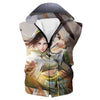 Toph Hooded Tank - Avatar the Last Airbender Toph Clothes - Hoodie Now