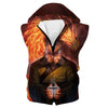 Uncle Iroh Hooded Tank - Avatar the Last Airbender Uncle Iroh Clothes - Hoodie Now