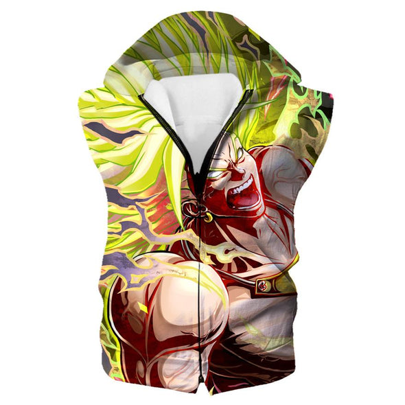 Legendary Super Saiyan Broly Hoodie - Dragon Ball Movie Clothing - Hoodie Now