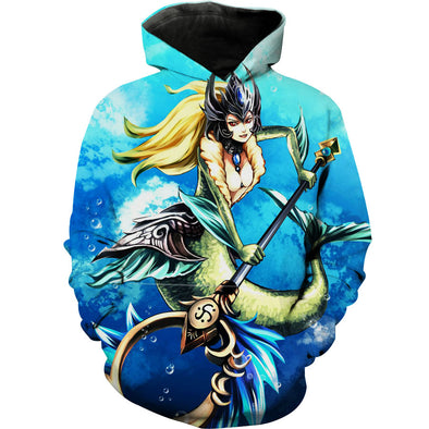 Nami Hoodie - League of Legends LoL Nami Clothes