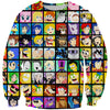 All Super Smash Bros Characters Hoodie - Super Smash Bros Nintendo Clothes