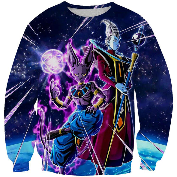 Beerus and Whis Sweatshirt - Dragon Ball Super Beerrus Clothes