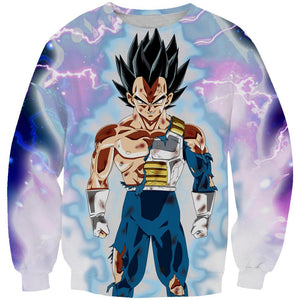 Ultra Instinct Vegeta Hoodie - Dragon Ball Super Clothes - Hoodie Now