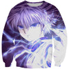 Killua Hatsu Sweatshirt - Hunter x Hunter Clothes - Hoodie Now