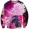 Super Saiyan Rose Goku Black Sweatshirt - Dragon Ball Super Clothing