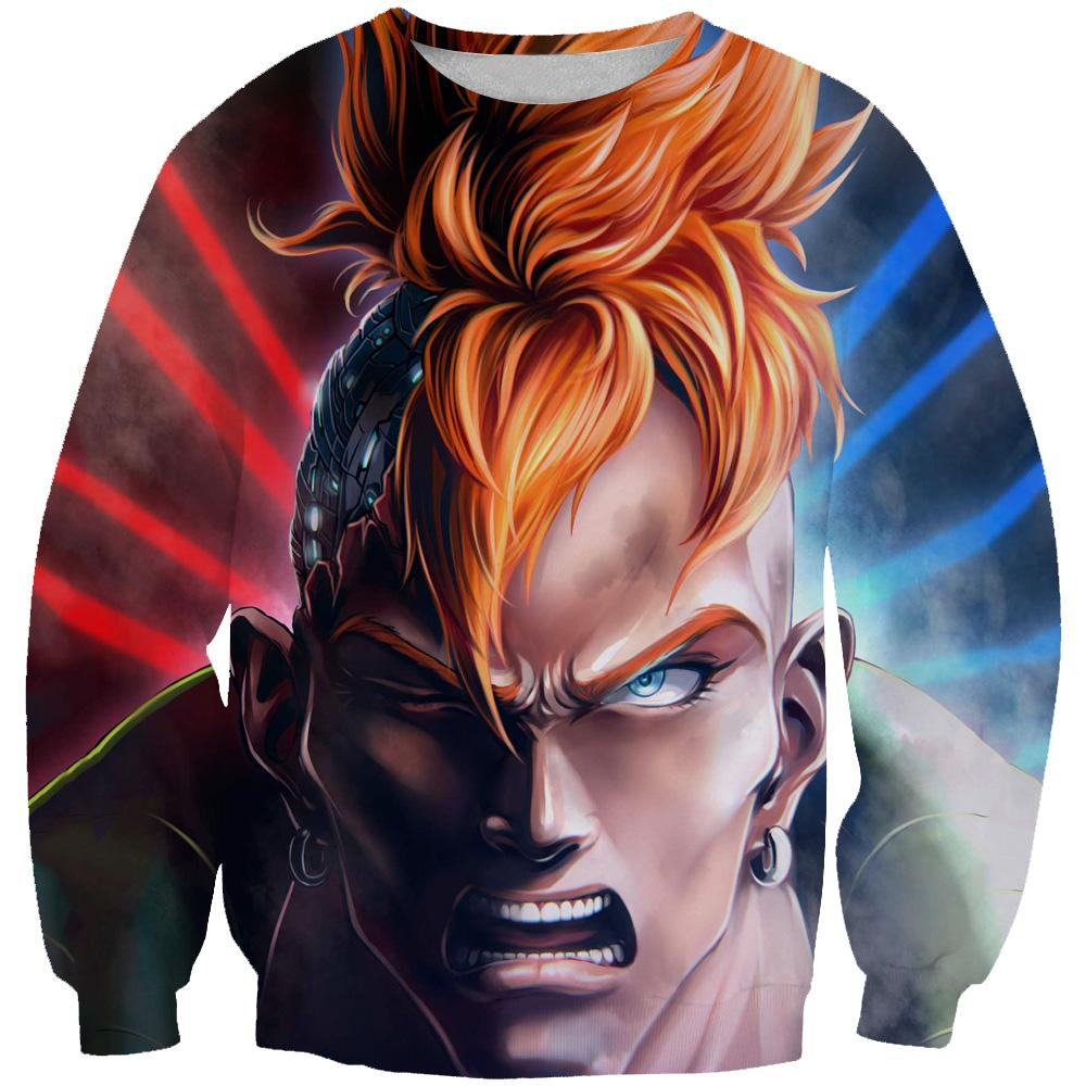 Android 16 Sweatshirt - Dragon Ball Z Clothing