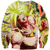 Legendary Super Saiyan Broly Sweatshirt - Dragon Ball Movie Clothing