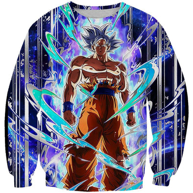 Ultra Instinct Goku Clothes - Dragon Ball Super Sweatshirt
