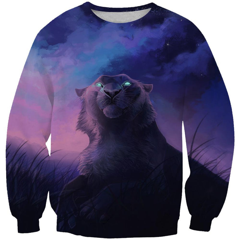 Galaxy Tiger Sweatshirt - Epic Space Tiger Clothes - Hoodie Now