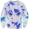 Blue Killua T-Shirt - Killua Anime Hunter x Hunter Shirts - Hoodie Now