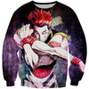 Hisoka Card Sweatshirt - Hunter x Hunter Hisoka Clothes - Hoodie Now