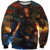 World of Warcraft Tauren Warrior Hoodie - Tauren - Hoodie Now