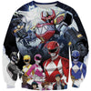 Mighty Morphing Power Rangers Clothes - Power Rangers Hoodie - Hoodie Now