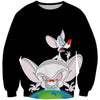 Pinky and the Brain Sweatshirt - Prinky and the Brain Clothing
