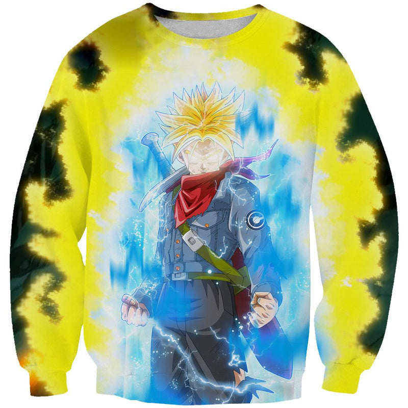 Super Saiyan Rage Trunks Hoodie - Dragon Ball Super Clothes - Hoodie Now