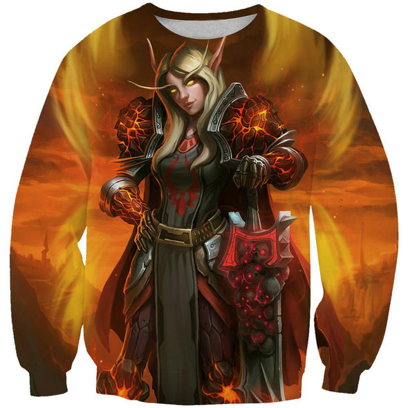 World of Warcraft Blood Elf Paladin Hoodie - Paladin Hoodie - Hoodie Now