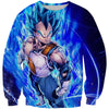 Super Saiyan Blue Vegeta Sweatshirt - Dragon Ball Super Vegeta Sweaters