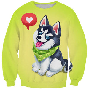 Cute Husky Clothes