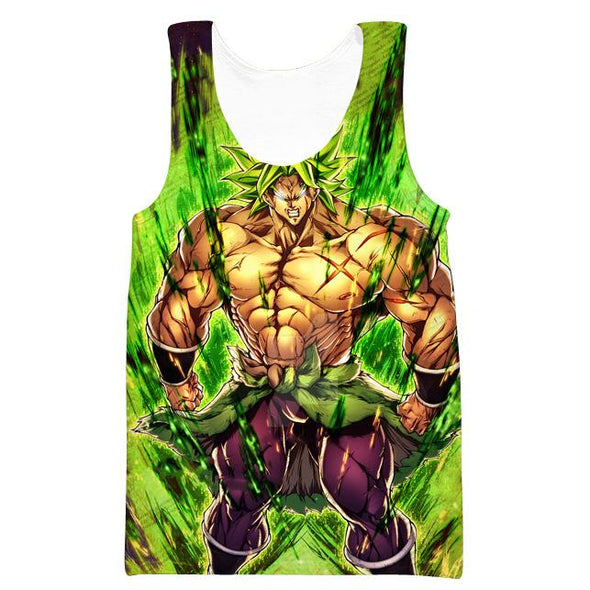 Dragon Ball Super Movie Clothing - Super Saiyan Broly Tank Top
