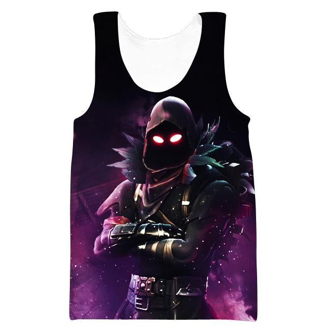 Raven Tank Top - Fortnite Clothing and Gym Shirts - Hoodie Now