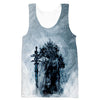 Lich King Arthas Hooded Tank - World of Warcraft Clothes - Hoodie Now