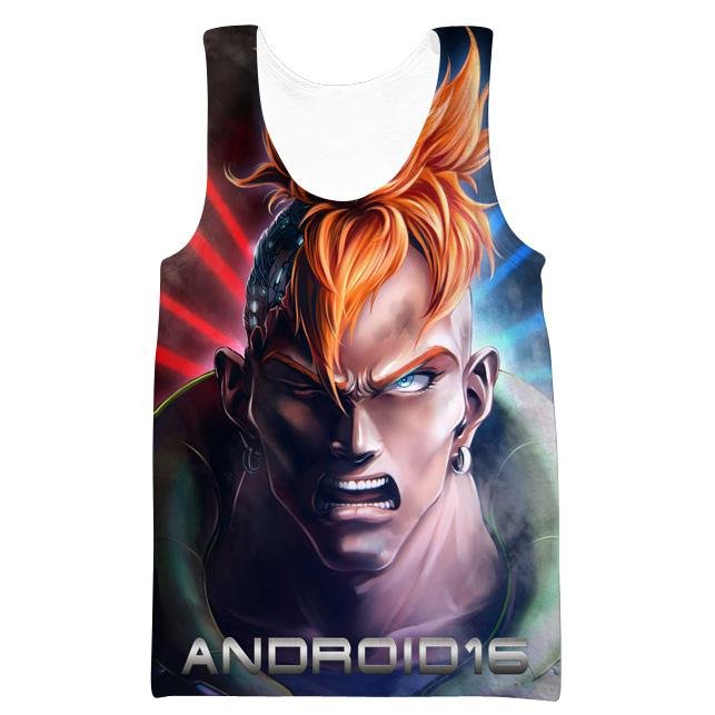 Android 16 Hoodie - Dragon Ball Z Clothing - Hoodie Now