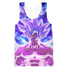 Goku Silver Ultra Instinct Hoodie - Dragon Ball Super Clothing - Hoodie Now