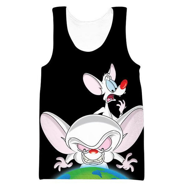 Pinky and the Brain Tank Top - Prinky and the Brain Clothing