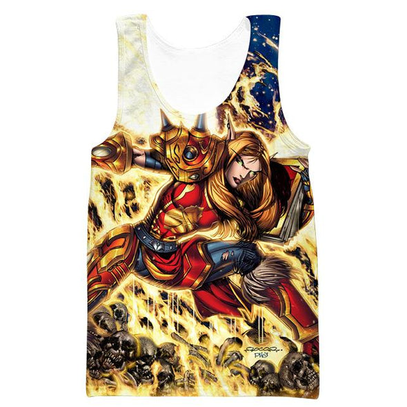 World of Warcraft Paladin Tank Top - WoW Clothes - Hoodie Now