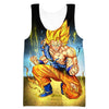 Battle Damaged SSJ Goku Sweatshirt - Dragon Ball Z Goku Clothes - Hoodie Now