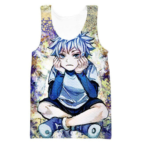 Thinking Killua Sweatshirt - Killua Anime Hunter x Hunter Sweater - Hoodie Now
