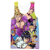 All Golden Wind Character Hoodie - JoJo's Bizarre Adventure Clothing - Hoodie Now