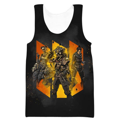 Apex Legends Tank Top - All Character Gym Shirts