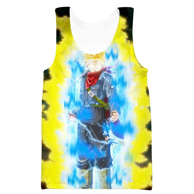 Super Saiyan Rage Trunks Tank Top - Dragon Ball Super Clothes