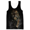 Crouching Tiger Tank Top - Tiger Clothing - Hoodie Now