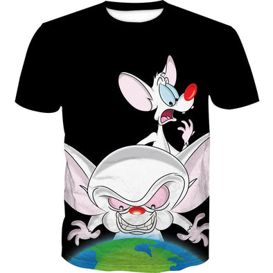 Pinky and the Brain T-Shirt - Prinky and the Brain Clothing