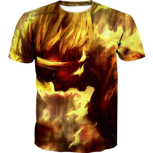 SSJ Goku Shirt - Dragon Ball Z Shirts