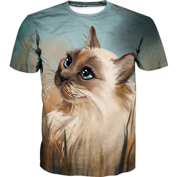 Beautiful Cat T-Shirt - Animal Clothing - Hoodie Now