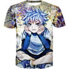 Thinking Killua Tank Top - Killua Anime Hunter x Hunter Shirts - Hoodie Now