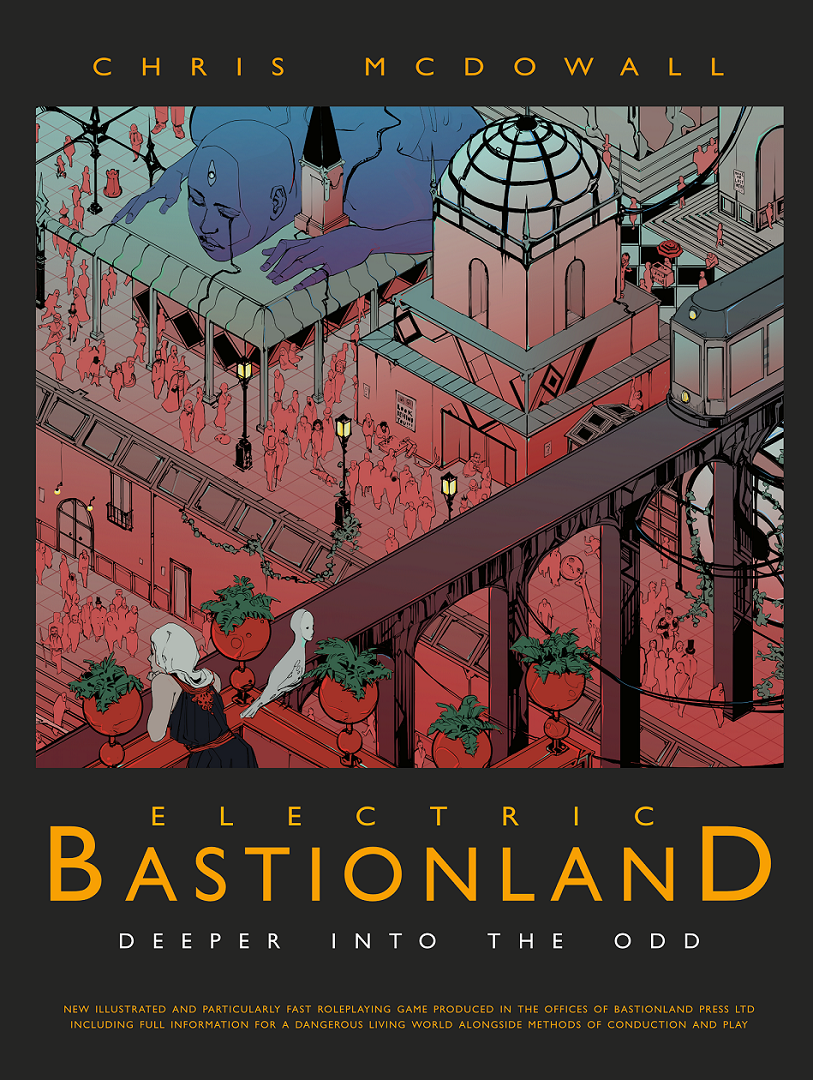 Electric Bastionland Hardback Book (plus PDF)